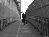 View from Manhattan Bridge, New York City Stampa fotografica di Keith Levit