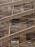 Fire Escapes, New York City Stampa fotografica di Keith Levit
