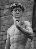 Statue of David by Michelangelo, Florence, Italy Photographic Print by Keith Levit