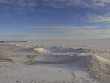 Frozen Lake, Gimli Manitoba Photographic Print by Keith Levit
