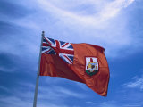 The Bermuda Flag Photographic Print by Francie Manning
