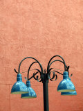 Lamp Post, La Placita Complex, Tucson, AZ Photographic Print by Walter Bibikow