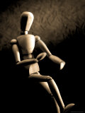 Wooden Figure Photographic Print by Tim Lynch
