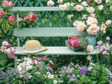 Summer Outdoor Arrangement Fotoprint van Lynne Brotchie