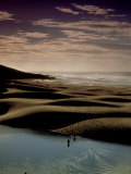 Beach and River Scenic Landscape, Transkei, South Africa Photographic Print by Tobias Bernhard