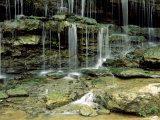 Falls on a Tributary of the Caney Falls River, TN Photographic Print by Willard Clay