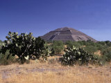 Pyramid of the Sun Photographic Print by David M. Dennis