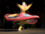 Sufi Dancer, Egypt Photographic Print by David Clapp