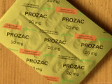 Prozac Capsule Blister Pack Photographic Print by Mike England