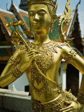 Figure Thepnorasi, Grand Palace, Thailand Photographic Print by Dr. Cannon Raymond