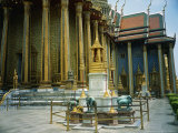 Library (Phra Mondop), Temple of the Emerald Buddha, Grand Palace, Bangkok, Thailand Photographic Print by Dr. Cannon Raymond