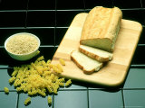 Bread & Grains, One of the Four Food Groups Photographic Print by David M. Dennis