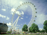 London Eye, UK Photographic Print by Mike England
