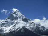 Ama Dablam Mountain, Khumbu Region, Nepal Photographic Print by Paul Franklin