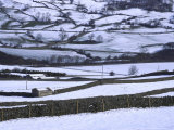 Yorkshire Dales in Winter Photographic Print by Mark Hamblin