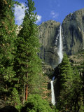 Yosemite Falls in Early Spring, USA Photographic Print by Mark Hamblin