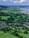 Llanfairfechan and the A55 Coast Road, North Wales Photographic Print by Paul Kay