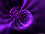 Futuristic Purple Design Photographic Print by Albert Klein