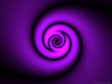 Abstract Swirl Design on Purple Background Photographic Print by Albert Klein