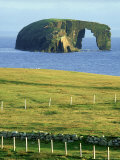 Dore Holm Natural Arch, Shetland Islands, Scotland Photographic Print by Iain Sarjeant