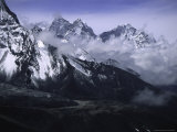 Kang Taiga Landscape, Nepal Photographic Print by Michael Brown