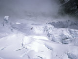 Erie Shot of the Khumbu Ice Fall, Nepal Photographic Print by Michael Brown