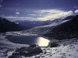Shishapangma Landscape, Tibet Photographic Print by Michael Brown