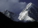 Pumori Landscape, Nepal Photographic Print by Michael Brown