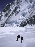 Approaching High Camp, Everest Photographic Print by Michael Brown
