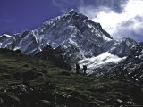 Nuptse Landscape, Nepal Posters by Michael Brown