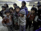 Children, Tibet Photographic Print by Michael Brown