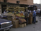 Fruit Stand, Morocco Prints by Michael Brown