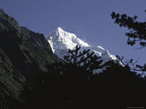 Mountains in Nepal Photographic Print by Michael Brown