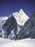 Mountain Peak in Sight, Western Comb, Nepal Posters by Michael Brown