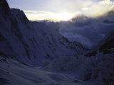 Everest Southside Landscape Photographic Print by Michael Brown