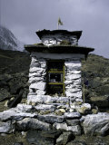 Stone House, Nepal Photographic Print by Michael Brown