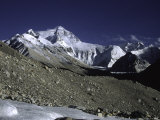 Mt. Everest Seen from the North Side, Tibet Photographic Print by Michael Brown