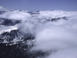 Sea of Clouds Around Arapahoe Peak, Colorado Photographic Print by Michael Brown