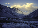 Mountain Valley Sunset, Nepal Photographic Print by Michael Brown