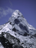 Mount Amadablam, Nepal Photographic Print by Michael Brown
