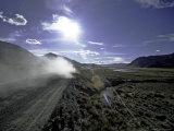 Dirty Road, Tibet Print by Michael Brown