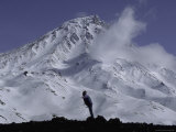 Snowy Kronotski Volcano, Russia Photographic Print by Gordon Brown