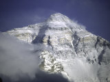 Mount Everest Northside, Tibet Photographic Print by Michael Brown