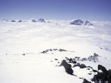 Caucaus Mountains from Elbrus, Russia, Photographic Print