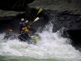Whitewater Rafting, USA Photographic Print by Michael Brown