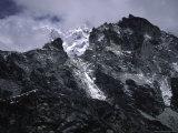 Lobuche East Landscape, Nepal Photographic Print by Michael Brown