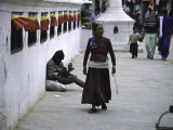 Woman, Nepal Photographic Print by Michael Brown