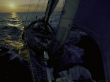 Sailing at Sunset, Ticonderoga Race Photographic Print by Michael Brown