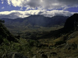 Cloudy Look at the Valley Floor, Madagascar Prints by Michael Brown