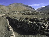 Trench in the Tibetan Himayalan Range Photo by Michael Brown